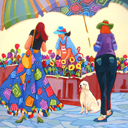 """Pick Me"" painting by Carolee Clark"