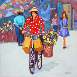"""Jam Packed"" painting by Carolee Clark"