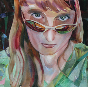 Self Portrait of Artist Carolee Clark